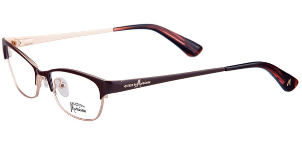 Guess by Marciano GM 199 BU Red-Burgundy Cat-Eye Glasses
