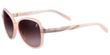 Guess by Marciano GM 696 Blush-Pink Big Sunglasses