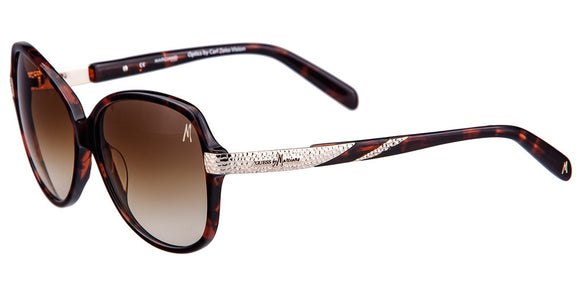 Guess by Marciano GM 696 Tortoise Oversized Sunglasses