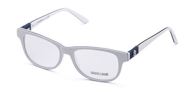 Roberto Cavalli RC0688 White and Blue Eyeglasses