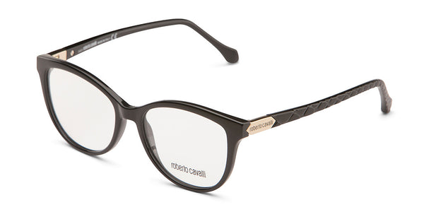 Roberto Cavalli RC0752 Black Crocodile Eyeglasses