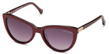 Roberto Cavalli 787 Bordeaux Gradient Smoke Sunglasses