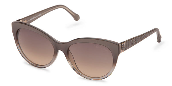 Roberto Cavalli 798S Grey Gradient Smoke Sunglasses
