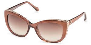 Roberto Cavalli 888S Cat Eye Bronze Women Sunglasses