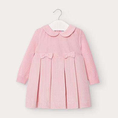 Mayoral Combined Dress for Toddler Girl