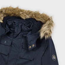 Load image into Gallery viewer, Mayoral Parka Coat with Faux Fur Trim
