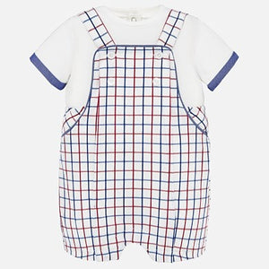 Mayoral T-Shirt & Dungaree Set
