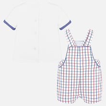 Load image into Gallery viewer, Mayoral T-Shirt & Dungaree Set