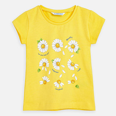 Mayoral Short Sleeve Daisy T-Shirt