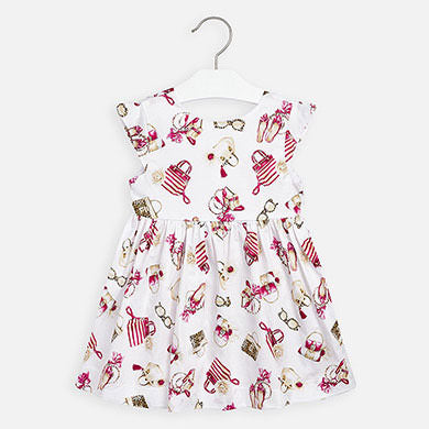 Mayoral Accessories Print Dress