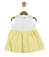 Load image into Gallery viewer, Mintini Lemon Baby Dress