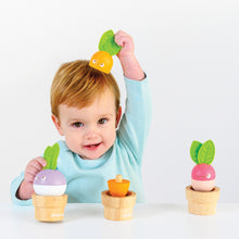 Load image into Gallery viewer, Le Toy Van Stacking Veggies