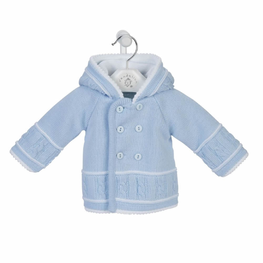 Dandelion Blue Baby Knitted Jacket