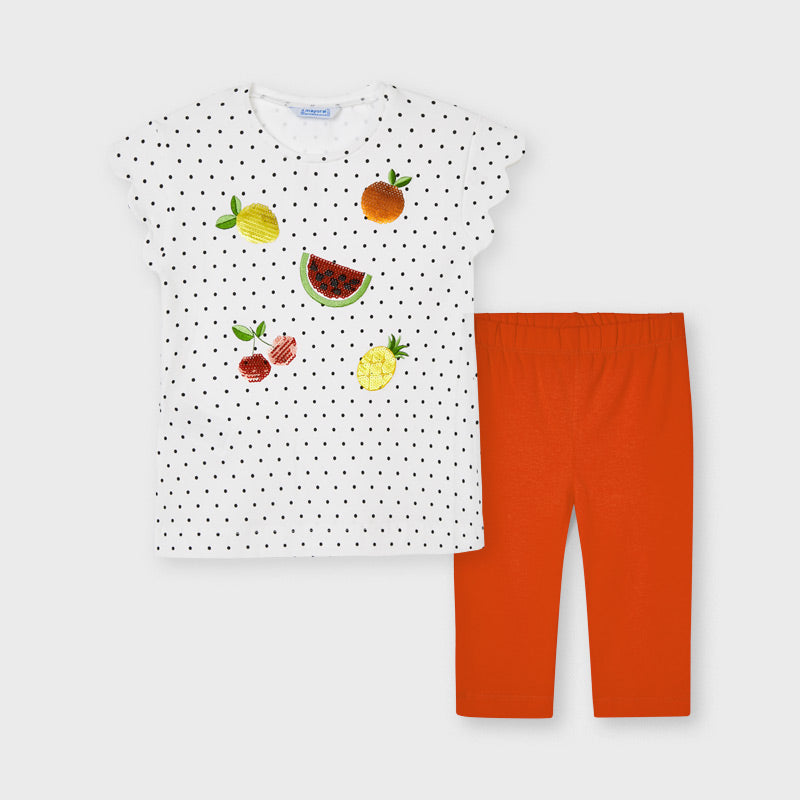 Mayoral Dotty T-Shirt and Leggings Set