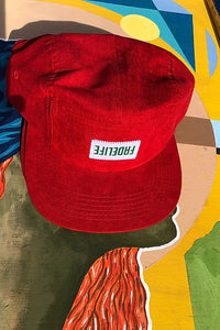 "Fadelife ""Red Fade"" 5 panel cap"