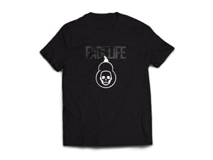 Women Fadelife Logo T-Shirts Dark Shadow
