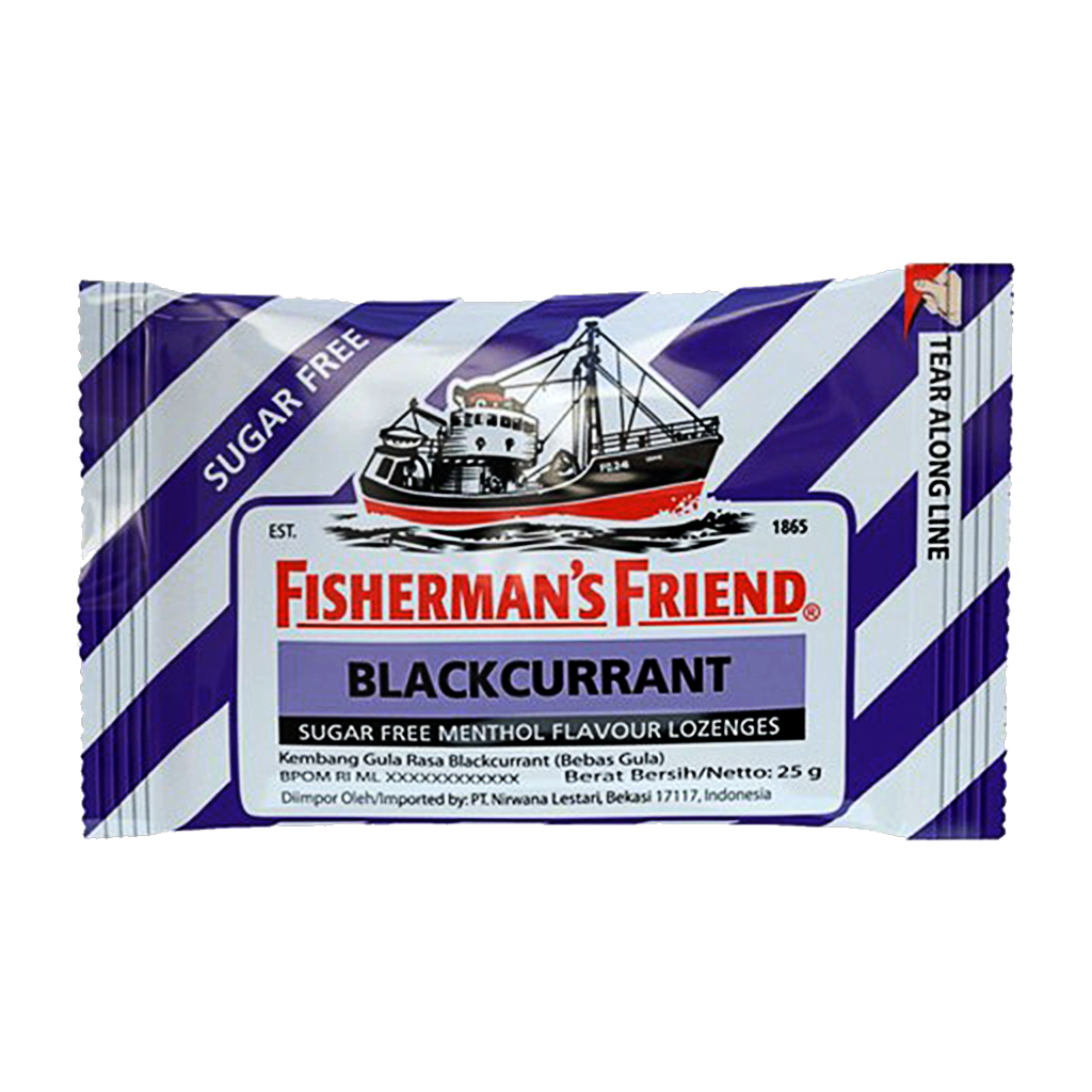 FISHERMANS FRIEND SF UNGU 25 GR