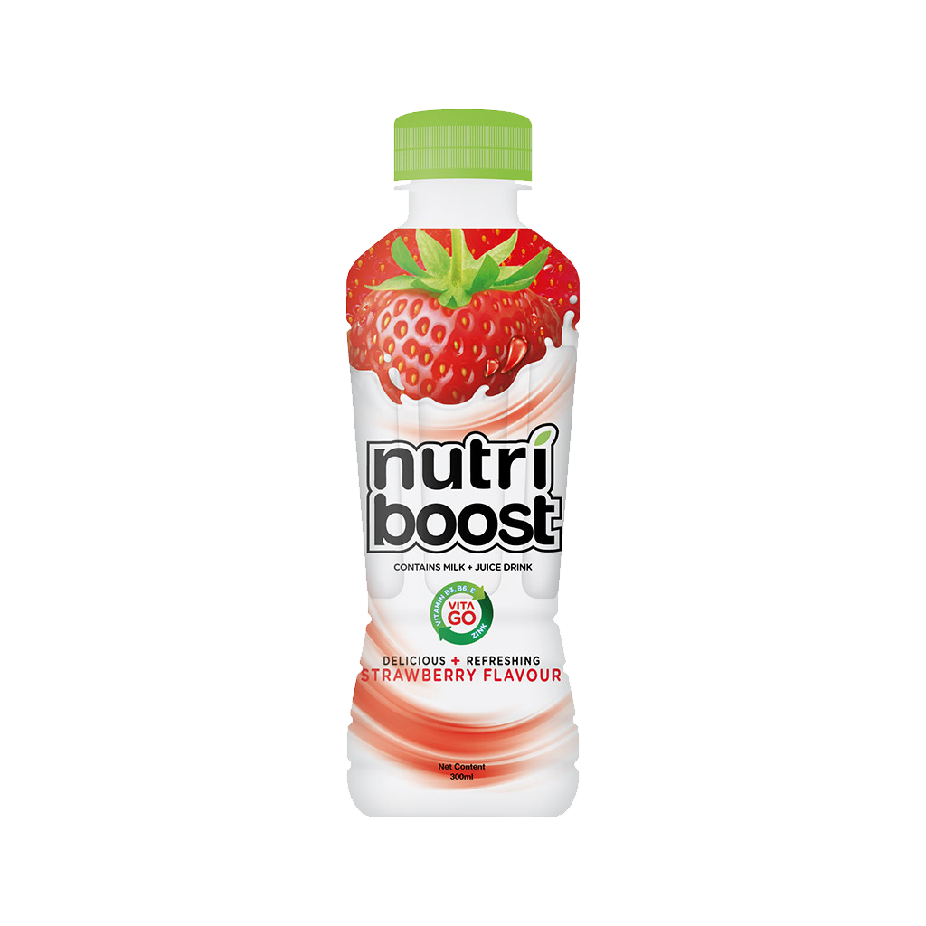 MINUTE MAID NUTRIBOOST STRAWBERRY PET 300 ML