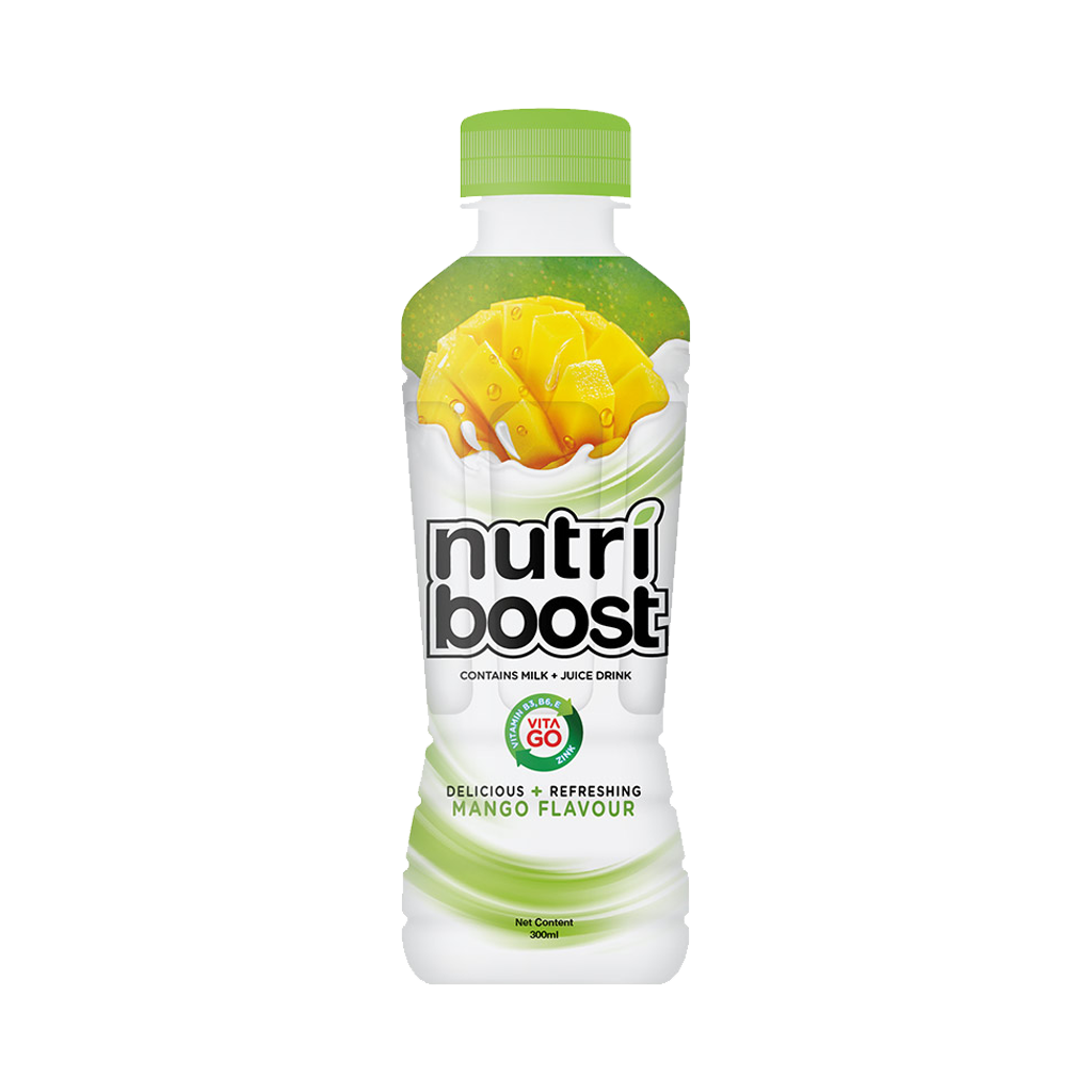 MINUTE MAID NUTRIBOOST MANGO PET 300 ML