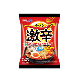 GEKIKARA RAMEN PAS (HOT SPICY MINI 75 GR)