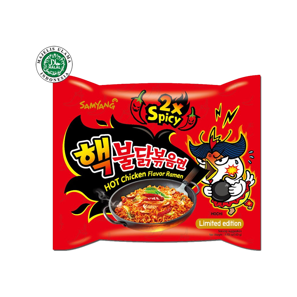 SAMYANG EXTRA HOT CHICKEN 140 GR