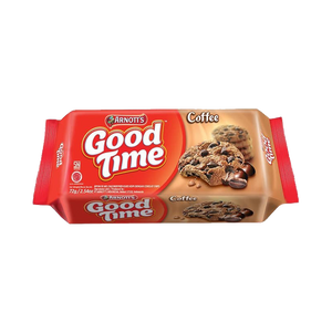 GOOD TIME COFFEE CHOCOCHIPS COOKIES 72 GR