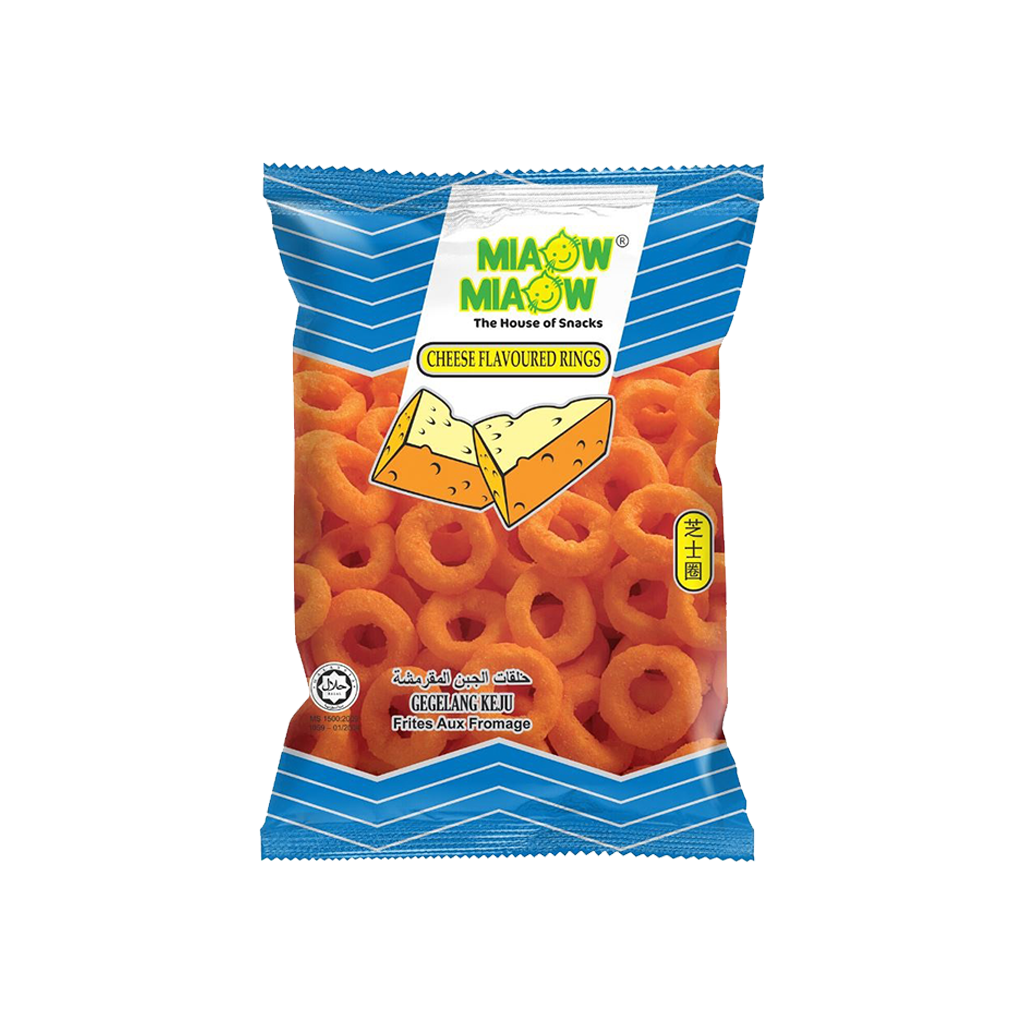 MIAOW MIAOW CHEESE RING 60 GR