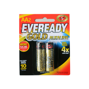 EVEREADY GOLD ALKALINE AA ISI 2