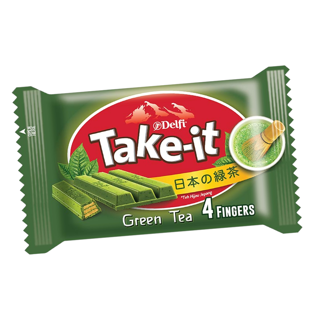 DELFI TAKE IT 4F GREEN TEA 35 GR