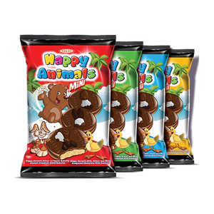 TAYAS HAPPY ANIMAL MINI BISCUIT 22 GR