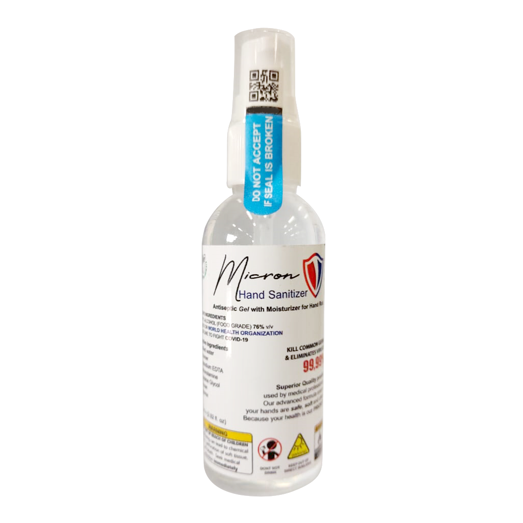 MICRON HAND SANITIZER GEL 60 ML