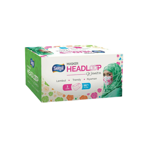 SENSI MASK HEADLOOP WANITA 40*