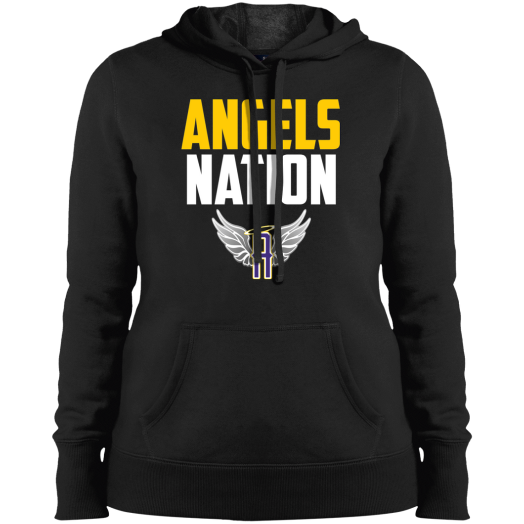 Angels Nation Ladies' Pullover Hooded Sweatshirt