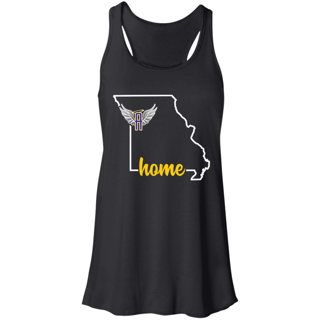 Angels Fastpitch Home Flowy Racerback Tank