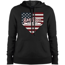 Load image into Gallery viewer, Barnwood Plate Ladies' Pullover Hooded Sweatshirt