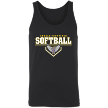 Load image into Gallery viewer, Angels Fastpitch Plate Unisex Tank