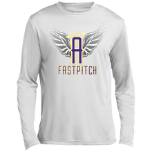 Load image into Gallery viewer, Angels Fastpitch Long sleeve Moisture Absorbing T-Shirt