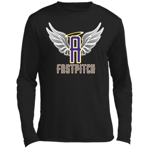Angels Fastpitch Long sleeve Moisture Absorbing T-Shirt