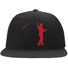 Load image into Gallery viewer, Bat Flip Flat Bill Twill Flexfit Cap