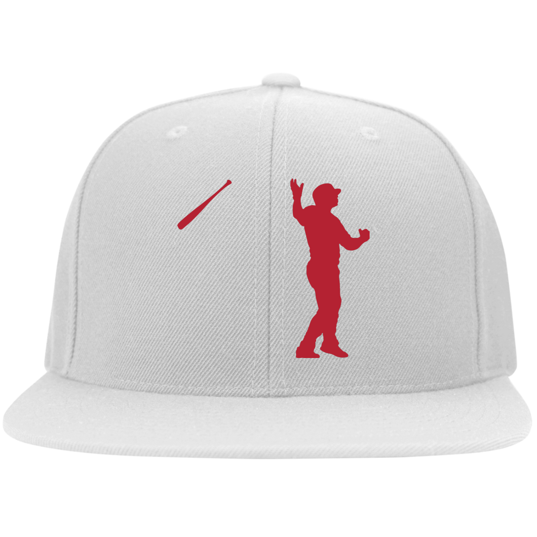 Bat Flip Flat Bill Twill Flexfit Cap