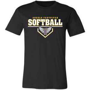 Angels Fastpitch Plate Short-Sleeve T-Shirt