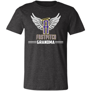 Angels Fastpitch Grandma Short-Sleeve T-Shirt