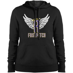 Angels Fastpitch Ladies' Pullover Hooded Sweatshirt