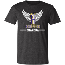 Load image into Gallery viewer, Angels Fastpitch Grandpa Short-Sleeve T-Shirt