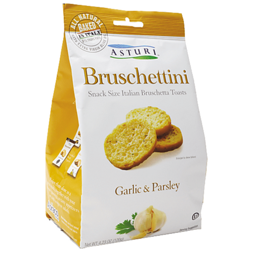 ASTURI Bruschettini Garlic & Parsley