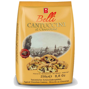 BELLI CANTUCCINI Chocolate Chip Biscotti