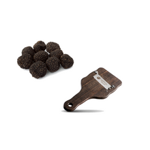 Load image into Gallery viewer, Fresh Burgundy Truffles with Wooden Truffle Slicer