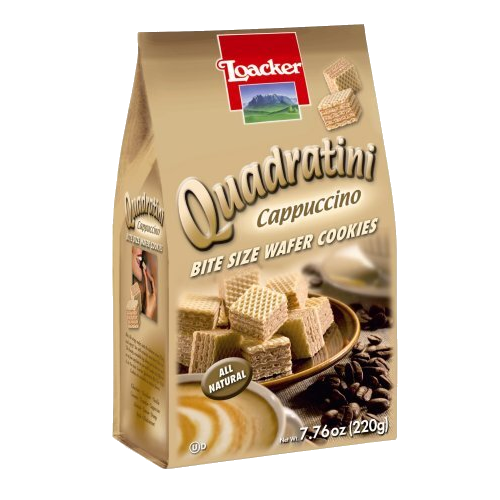 LOACKER Quadratini Cappuccino Wafers