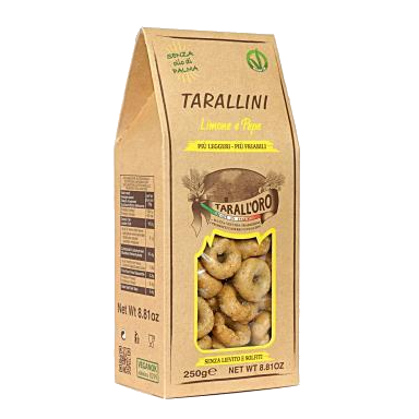 TARALL'ORO Taralli Pepper & Lemon