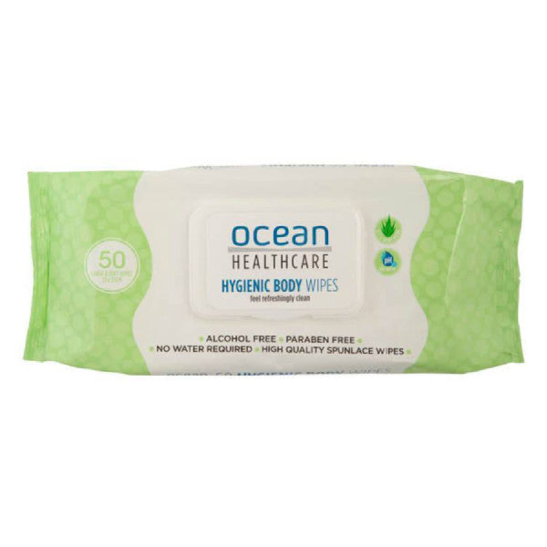 Ocean Healthcare Hygienic Wipes 50 pack